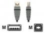 Bandridge USB A MALE naar USB B MALE ( 2 meter )