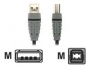 Bandridge USB A MALE naar USB B MALE ( 2 meter )