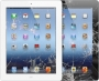 iPad 3/4 Touchscreen reparatie wit/zwart
