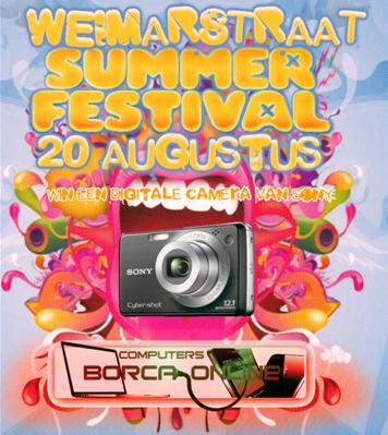 Weimarstraat festival prijzen